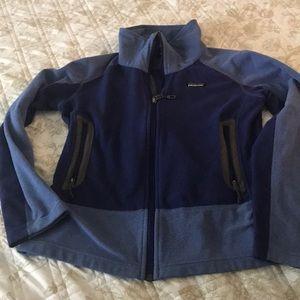 Patagonia S fleece zip up